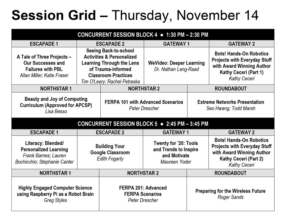 Thursday Grid 1-2